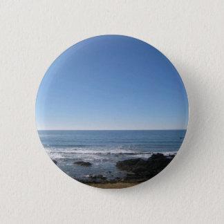 Kalifornien-Strand-Küste Runder Button 5,7 Cm
