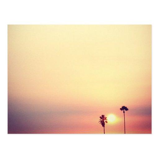 Kalifornien-Träumen Postkarten