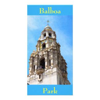 Kalifornien-Turm-Balboa-Park San Diego Kalifornien Karte