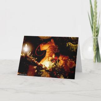 Kalifornien-Weihnachten Weihnachtskarte