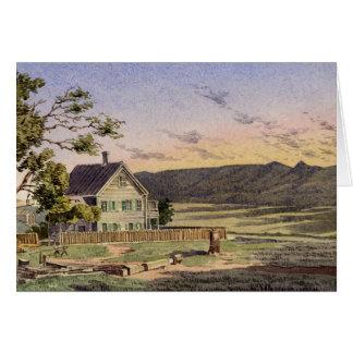 Kalifornische Ranch Karte