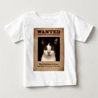 Kaliko-Kätzchen Baby T-shirt