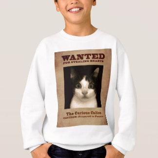 Kaliko-Kätzchen Sweatshirt