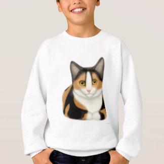 Kaliko-Katze scherzt Sweatshirt