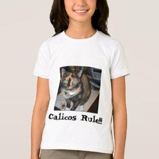 "Kaliko-Regel des Wecker-T ""!!! "" T-Shirt"