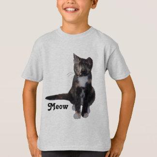 Kalikokätzchen-Sprichwort Meow T-Shirt