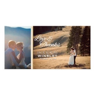 Kalligraphie-Skript Wedding | danken Ihnen Karte