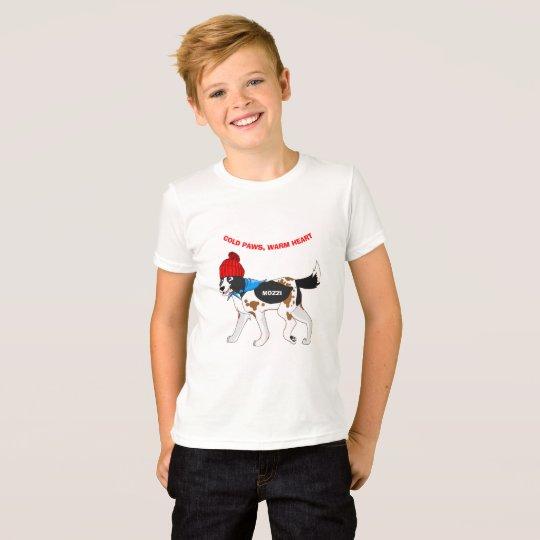 Kalte Tatzen, warmes Herz T-Shirt