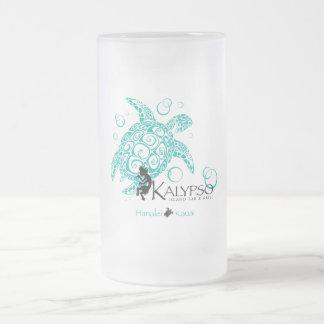 Kalypso Meeresschildkröte Matte Glastasse