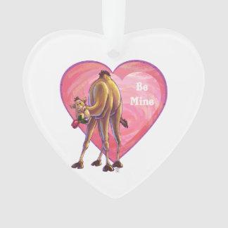Kamel-Valentinstag Ornament