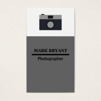 Kamera-Ikone für Fotografen Visitenkarte