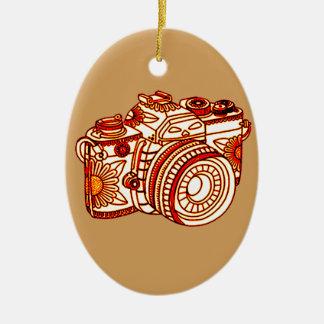 Kamera Keramik Ornament