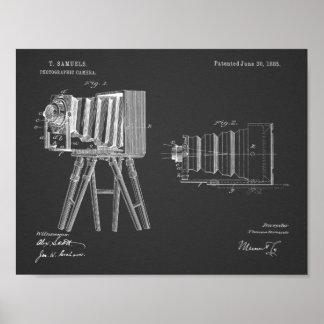 Kamera-Patent-Kunst 1885, die Druck zeichnet Poster