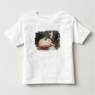 Kamin-Glück (Öl auf Platte) Kleinkinder T-shirt