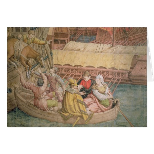 Kampagne des Kaisers Charles V gegen Karte