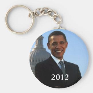 Kampagne Obama-Politik-2012 Schlüsselanhänger