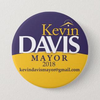 Kampagnen-Bürgermeister Button Election Politics