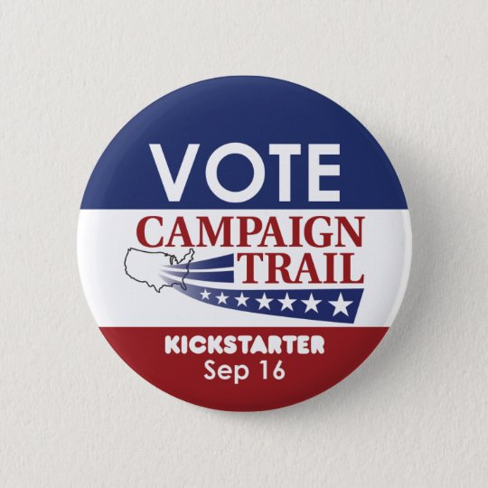Kampagnen-Knopf Runder Button 5,7 Cm
