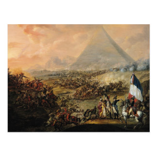 Kampf der Pyramiden, am 21. Juli 1798 Postkarte