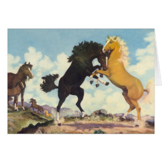 Kampf der Stallions Karte