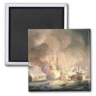 Kampf des Nils, am 1. August 1798 an 10pm, 1834 Quadratischer Magnet