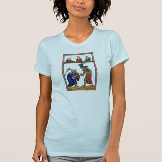 Kampf-Jungen-u. Mädchen-Shirt T-Shirt