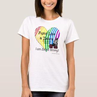 Kampf wie ein T - Shirt der Zebrafrauen