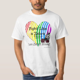 Kampf wie ein Zebra Ehlers-Danlos Bewusstsein T-Shirt