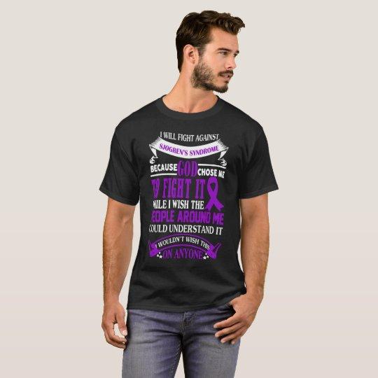 Kämpfenden Sjogrens Syndrom-Shirt T-Shirt