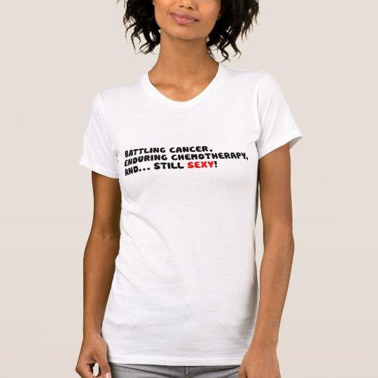 Kämpfender Krebs und noch sexy T - Shirt