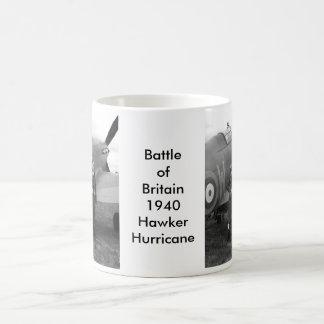 Kämpfer-Flugzeug des Hurrikan-WW2 Kaffeetasse