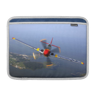 Kampfflugzeug des Mustang-P-51 MacBook Air Sleeve