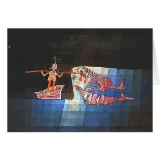 Kampfszene Pauls Klee- vom Comic ` Seafarer Karte