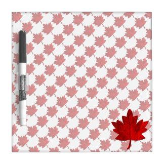 Kanada-Ahorn Blatt durch Shirley Taylor Trockenlöschtafel