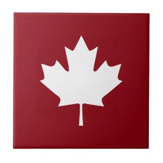 Kanada-Ahorn-Blatt-Keramik-Fliese - Rückfarben Keramikfliese