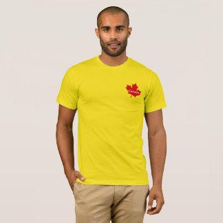 Kanada-Ahornblatt-T-Shirt T-Shirt