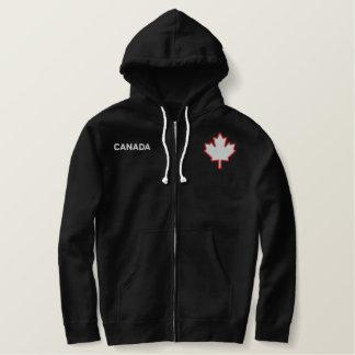 Kanada-AhornblattHoodie Bestickter Hoodie