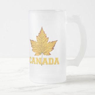 Kanada-Bier-Tassevarsity-Kanada-Andenken-Gläser Mattglas Bierglas