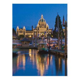Kanada, Britisch-Columbia, Victoria, inner Postkarte