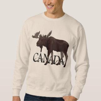 Kanada-Elch-Shirt-kanadische Elch-Sweatshirts Sweatshirt