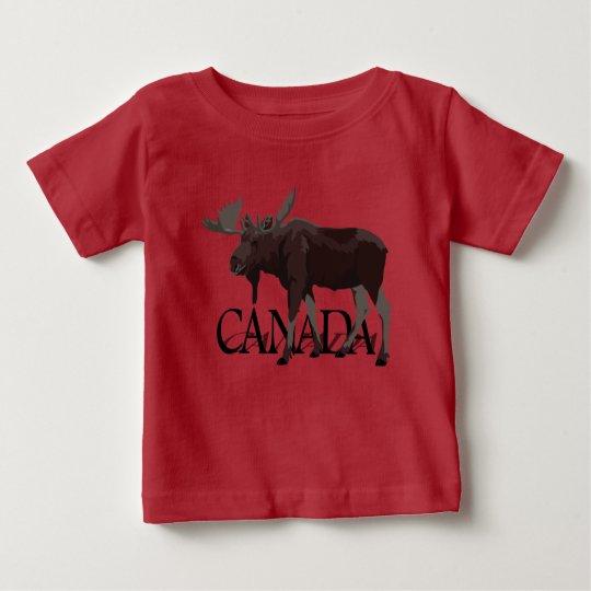 Kanada-Elch-T - Shirt-Baby-kanadisches Baby T-shirt