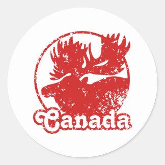 kanada elche aufkleber zazzlech