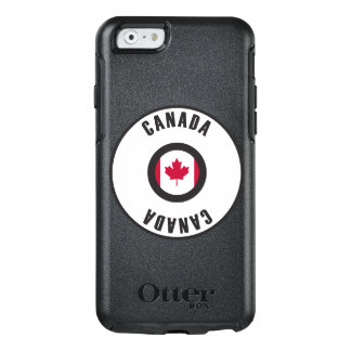 Kanada-Flagge einfach OtterBox iPhone 6/6s Hülle