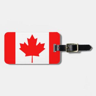 Kanada-Flagge Gepäckanhänger