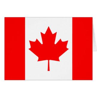 Kanada-Flagge Karte