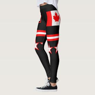 Kanada-Flagge Leggings