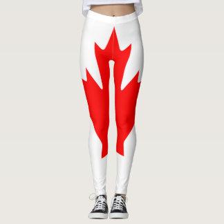 Kanada-Flagge voll Leggings