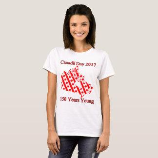 Kanada-Flaggen 150 T-Shirt