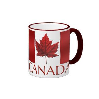 Kanada-Flaggen-Andenken-Kaffeetasse-Kanada-Tasse Ringer Tasse