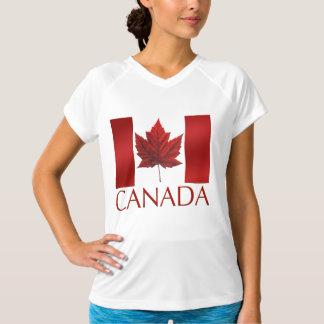Kanada-Flaggen-T - Shirt-Andenken Kanada trägt T-Shirt